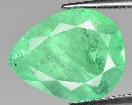 14.10 Cts Natural Vivid Green Colombian Emerald Loose Gemstone