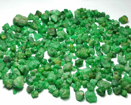 Amazing Natural color Gemmy quality Swat Emerald lot 750 Cts-Pakistan