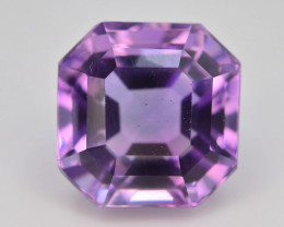 Top Color 8.20 ct AAA Cut Untreated Amethyst~ AS