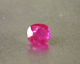 0.86ct natural unheated Ruby