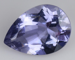 1.55 CT BLUE IOLITE NICE CUT GEMSTONE IO9