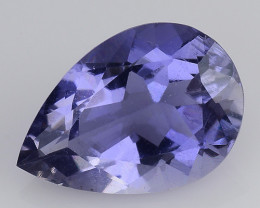 1.39 CT BLUE IOLITE NICE CUT GEMSTONE IO17