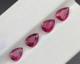 2.85Carats Natural Color Rubellite Tourmaline Gemstone
