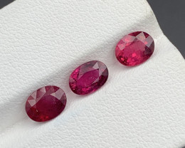 2.95Carats Natural Color Rubellite Tourmaline Gemstone
