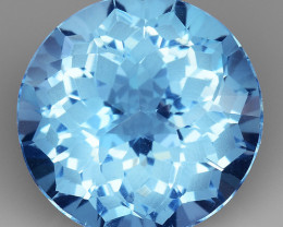 8.99 CT BLUE TOPAZ AWESOME COLOR AND CUT GEMSTONE TP3