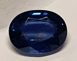 Sapphire, 2.214ct GLA certified, very good colour great gem from Madagascar