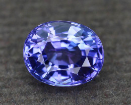 AAA Grade 1.03 ct Tanzanite eye catching Color SKU.28