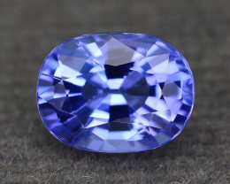 AAA Grade 1.29 ct Tanzanite eye catching Color SKU.28