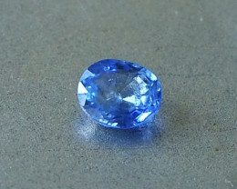 0.65ct natural unheated sapphire