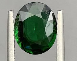 1.62 Carat chrome Tourmaline Gemstone