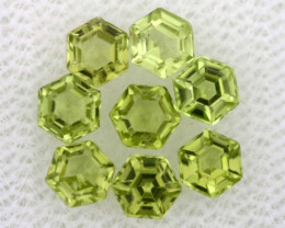 2.40 CTS  PERIDOT FACETED STONE PARCEL RNG-581