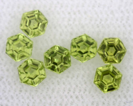 1.10 CTS  PERIDOT FACETED STONE PARCEL RNG-582