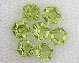 1.11 CTS  PERIDOT FACETED STONE PARCEL RNG-583