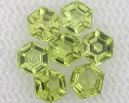 1.19 CTS  PERIDOT FACETED STONE PARCEL RNG-584