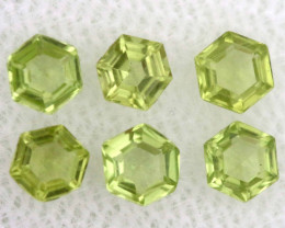 1 CTS  PERIDOT FACETED STONE PARCEL RNG-587