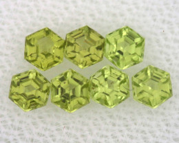 1.2 CTS  PERIDOT FACETED STONE PARCEL RNG-588