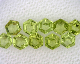 1.41 CTS  PERIDOT FACETED STONE PARCEL RNG-590