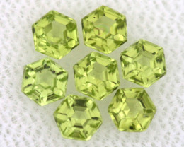 1.12 CTS  PERIDOT FACETED STONE PARCEL RNG-594