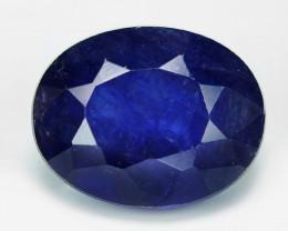 3.34 Cts Amazing Rare Natural Fancy Blue Ceylon Sapphire Loose Gemstone