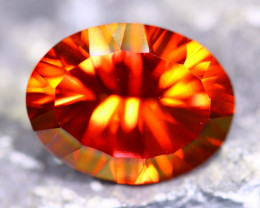 9.77cts Natural TOP Red Colour Topaz / MA178