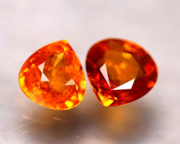 Garnet 1.78Ct Natural Vivid Orange Spessartite Garnet E1401/B34