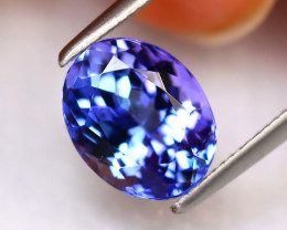 Tanzanite 2.36Ct Natural VVS Purplish Blue Tanzanite ER169/D8