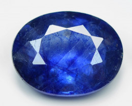 2.88 Cts Amazing Rare Natural Fancy Blue Ceylon Sapphire Loose Gemstone