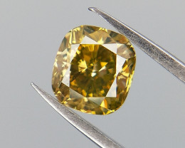 0.36 CTS , Cushion Brilliant Diamond , Natural Diamond