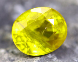 3.64cts Yellow Colour Sapphire / MA201