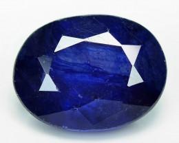 3.08 Cts Amazing Rare Natural Fancy Blue Ceylon Sapphire Loose Gemstone