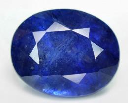 2.93 Cts Amazing Rare Natural Fancy Blue Ceylon Sapphire Loose Gemstone