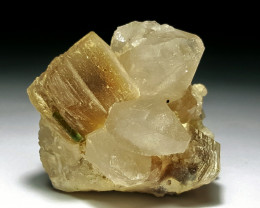 Amazing Natural color Tourmaline combine with Topaz and lovely Quartz and M