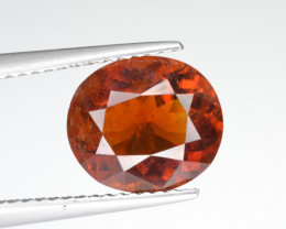 Natural Clinohumite 3.27 Cts From Afghanistan