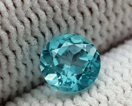 0.55CT NEON BLUE APATITE  BEST QUALITY GEMSTONE IIGC53
