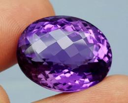 36.65Crt Natural Amethyst Natural Gemstones JI42