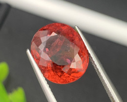 7.39 Cts Natural Rubellite Tourmaline Excellent Luster Top Red