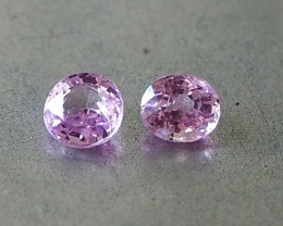 1.08ct natural unheated pink sapphire