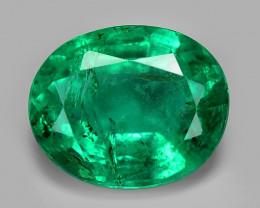 Colombian Emerald 0.52 Cts Natural Vivid Green Gemstone
