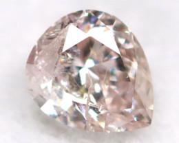 Pink Diamond 0.12Ct Untreated Genuine Fancy Diamond B1206