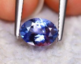 Tanzanite 1.24Ct Natural VVS Purplish Blue Tanzanite D1515/D3