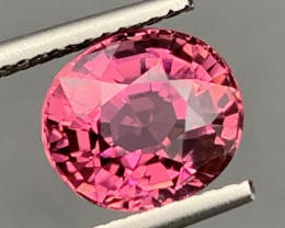 3.25Carats Natural Color RubelliteTourmaline Gemstone
