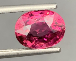 2.81Carats Natural Color RubelliteTourmaline Gemstone