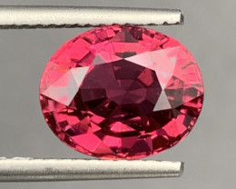 3.62Carats Natural Color RubelliteTourmaline Gemstone