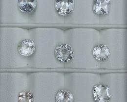 32.36 Carats Topaz Gemstones Parcel