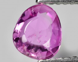 1.00 Cts Amazing Rare Natural Fancy Purple Sapphire Loose Gemstone