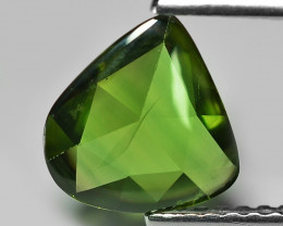 1.34 Cts Amazing Rare Natural Fancy Green Sapphire Loose Gemstone