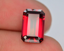 AAA Cut 3.85  Ct Natural Ravishing Color Rhodolite Garnet