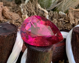 10.11 Cts High Catching Deep Red AAA Quality Natural Rubellite Tourmaline