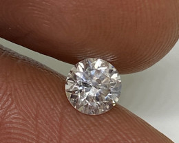 (3) Certified Nat $1089 Fiery 0.60cts SI2  White Round Loose Diamond
