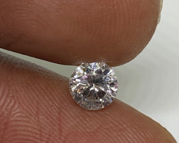(4) Certified Nat  $1838  Fiery 0.71cts SI2  White Round Loose Diamond